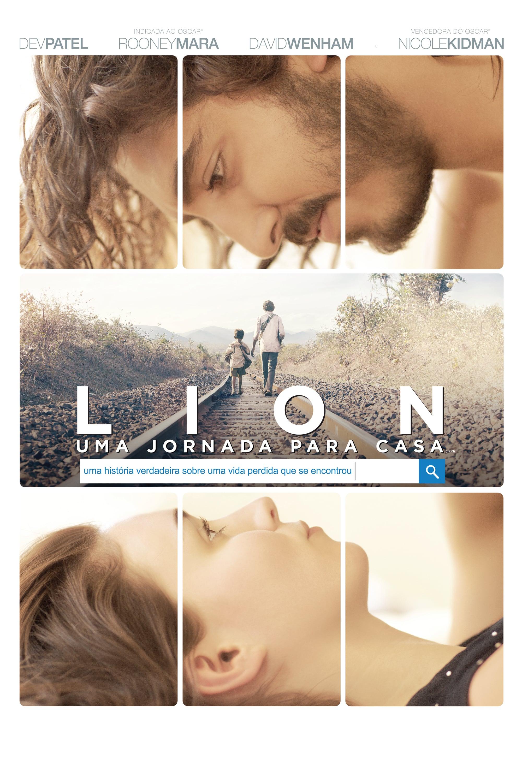 """Poster for the movie """"Lion - A Longa Estrada Para Casa"""""""