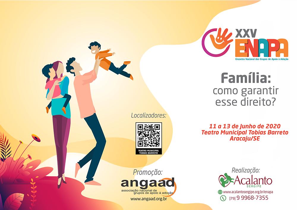 Confira a programação do XXV ENAPA em Aracajú-SE