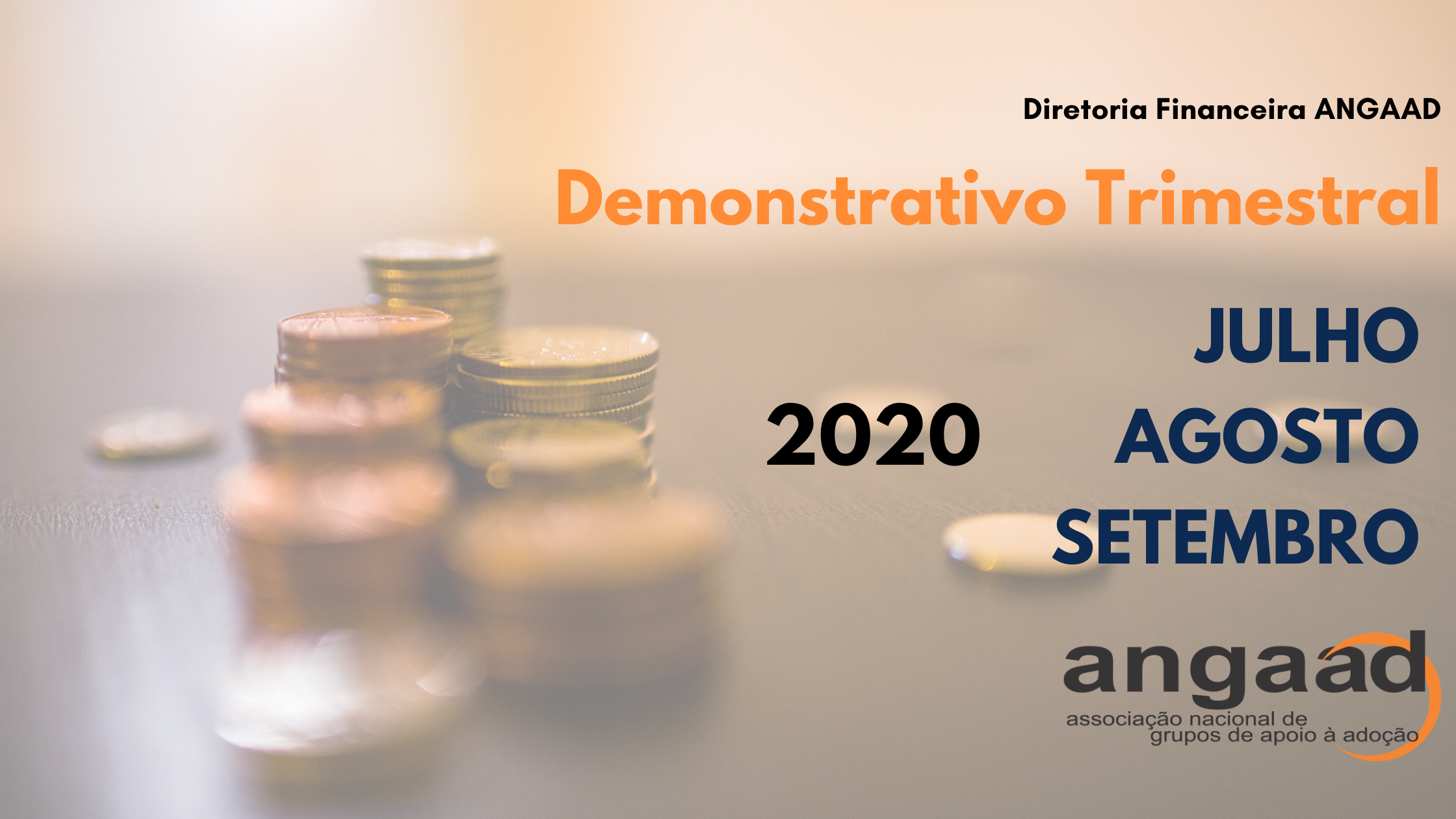 Demonstrativos Trimestrais – jul., ago., e set. 2020